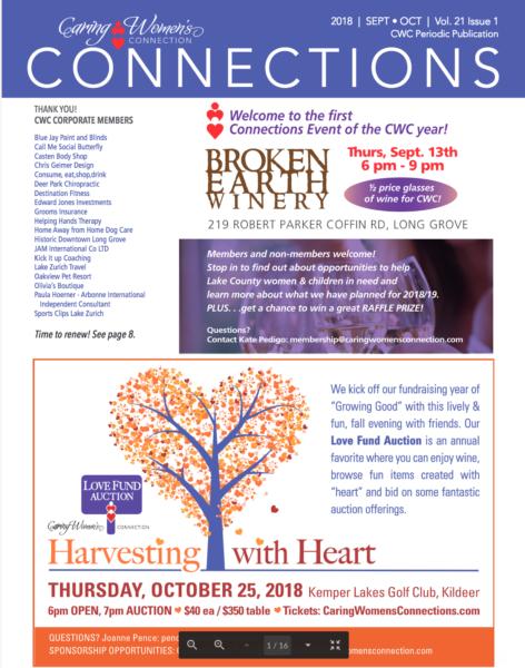 September/ October Newsletter – Caring Women's Connection
