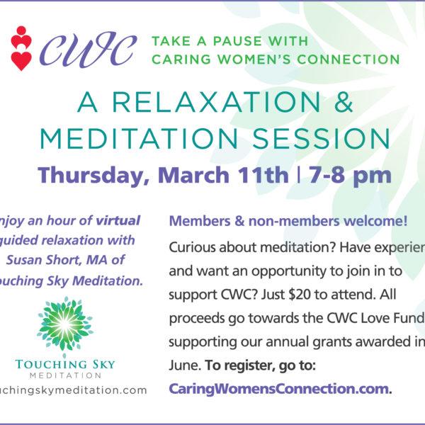 March2021 Meditation event