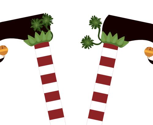 holiday helper feet